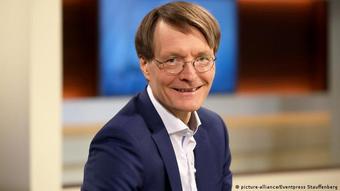Karl Lauterbach - Talkshow (picture-alliance/Eventpress Stauffenberg)