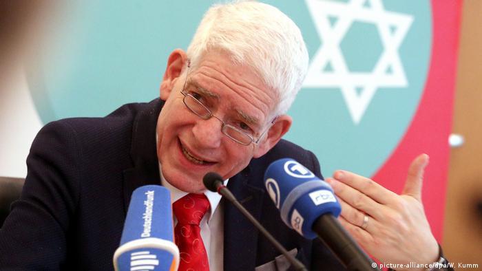 Yahudiler Merkez Konseyi Başkanı Josef Schuster