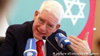 Ο πρόεδρος του Κεντρικού Εβραϊκού Συμβουλίου της Γερμανίας Γιόζεφ Σούστερ