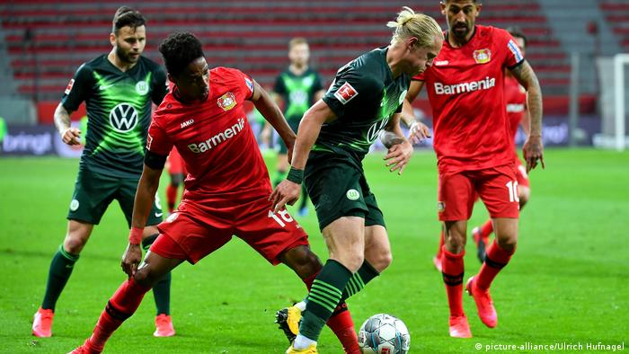 Deutschland Fußball Bundsliga   Bayer 04 Leverkusen - VfL Wolfsburg