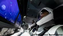 USA 1. SpaceX bemanntes Raumschiff Mission zu ISS