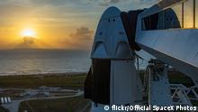 USA 1. SpaceX bemanntes Raumschiff Mission zu ISS (flickr/Official SpaceX Photos)