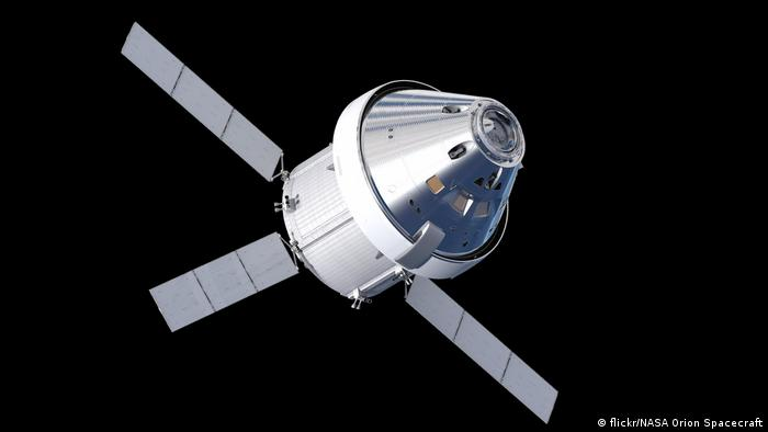 Artist impression of the Orion spacecraft (flickr/NASA Orion Spacecraft)