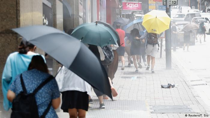 Hongkong Protest Sicherheitsgesetz (Reuters/T. Siu)