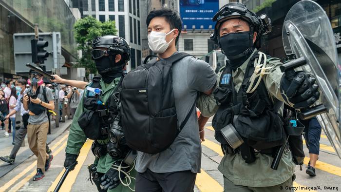 Hongkong Protest Sicherheitsgesetz (Getty Images/A. Kwang)