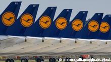 BER Flughafen Lufthansa FLugzeuge