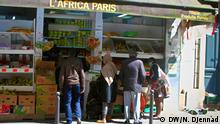 Frankreich, Paris: Geschäft in der Doudeauvillestraße