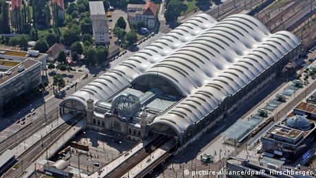 Deutschland Hauptbahnhof Dresden