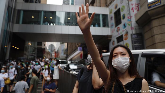 China: Erneute Proteste in Hongkong