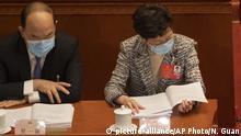 Hongkong Parlament Carrie Lam Justizreform