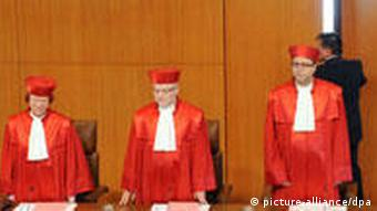 German constitutional court justices
