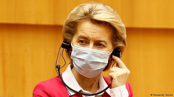 Ursula von der Leyen, Presidenta de la Comsiión Europea.