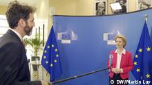 Brüssel Interview Ursula von der Leyen EU-Kommissionspräsidentin