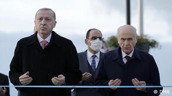 Σταθερά μαζί στην κυβέρνηση Ερντογάν και Μπαχτσελί