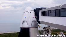 Cape Canaveral vor dem Start SpaceX Falcon 9 Rakete