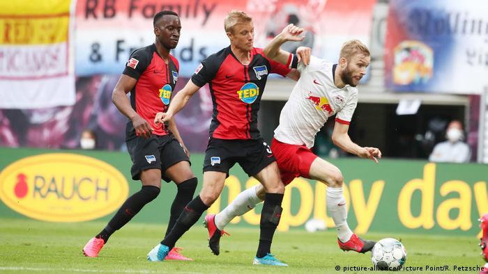 Fußball 1. Bundesliga RB Leipzig - Hertha BSC Berlin (picture-alliance/Picture Point/R. Petzsche)