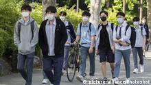 Südkorea Seoul | Coronavirus | Rückkehr Schüler