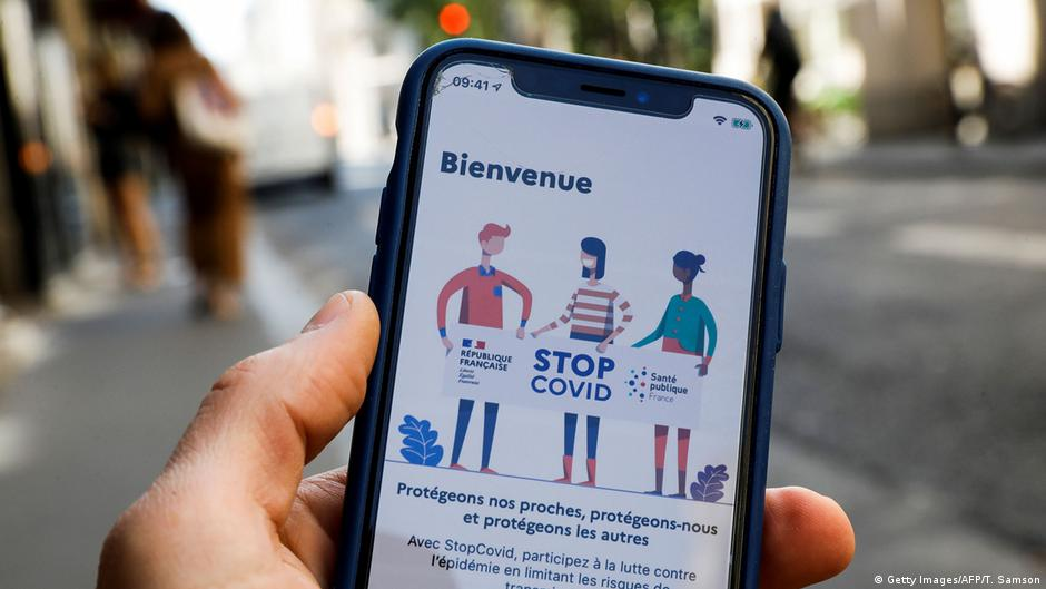 Frankreich startet Corona-App