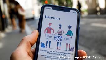 Французское приложение для отслеживания распространения коронавируса