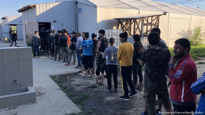 Migranti u Principovcu tokom Bajrama