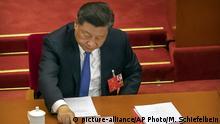China Nationaler Volkskongress | Sicherheitsgesetz Hongkong | Xi Jinping, Präsident