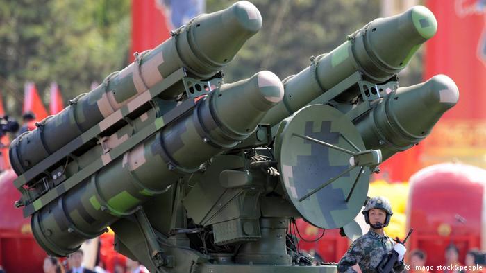 китайская ракетная установка