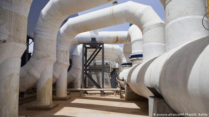 In this May 4, 2014 file photo, shows the Sorek desalination plant in Rishon Letzion, Israel.