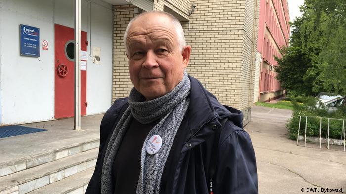 В Беларуси задержали претендента на пост президента Владимира Непомнящих