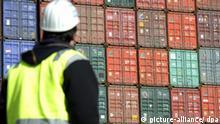 Deutschland Container Hafen Export