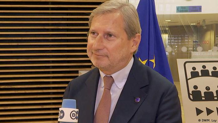 Johannes Hahn, EU-Kommissar für den Haushalt