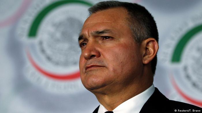 Genaro García Luna, ex secretario de Seguridad Pública de México, en imagen de archivo