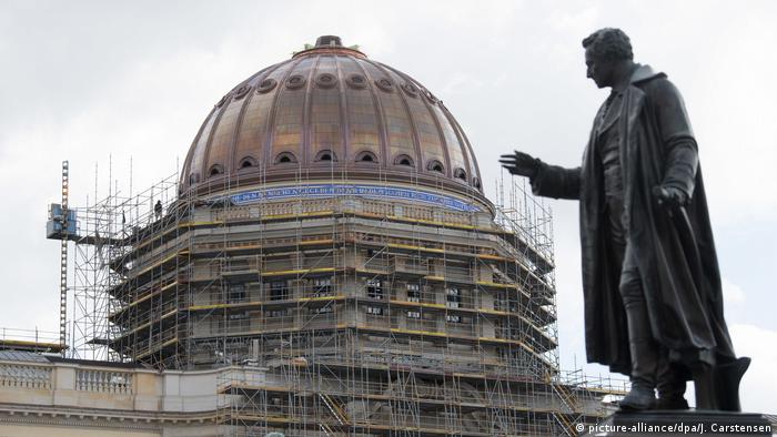 The dome of the reconstructed Berlin Palace