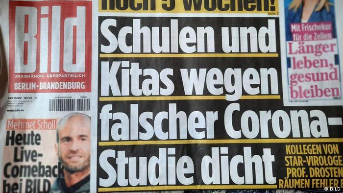 Naslovnica Bild-Zeitunga
