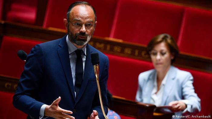 Frankreich Premierminister Edouard Philippe (Foto: Reuters/C. Archambault)