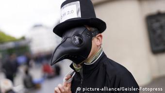 Μια πρωτότυπη μάσκα εν μέσω πανδημίας