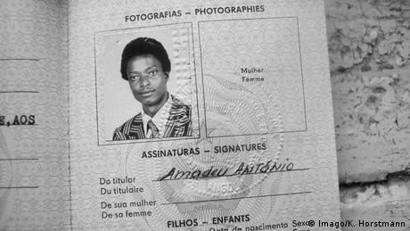 Amadeu Antonio Kiowa Ausweis