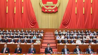 Peking 13. Nationaler Volkskongress Xi Jinping<br /> (picture-alliance/Xinhua/J. Peng)