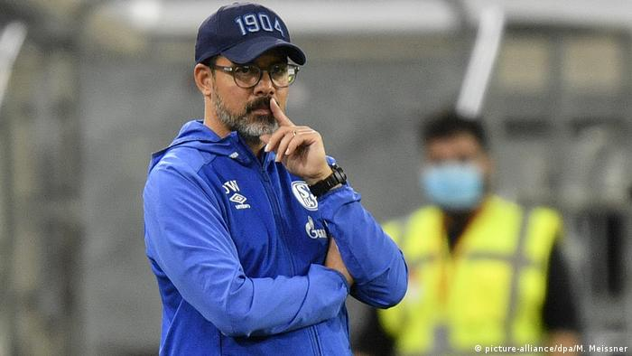 Deutschland Bundesliga | Fortuna Duesseldorf vs FC Schalke 04 | Trainer David Wagner (picture-alliance/dpa/M. Meissner)