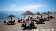 Spanien Strand in Malaga