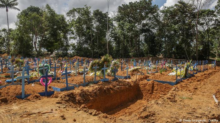 مقابر جماعية في البرازيل للمتوفين بفيروس كورونا