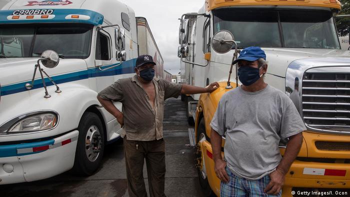 Zentralamerika Coronavirus Grenzen Transport (Getty Images/I. Ocon)