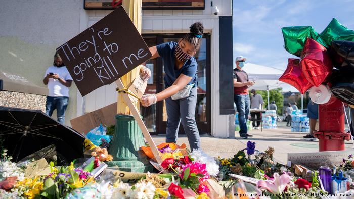 USA Proteste wegen Tod von George Floyd In Minnesota (picture-alliance/ZumaPress/TNS/M. Vancleave)