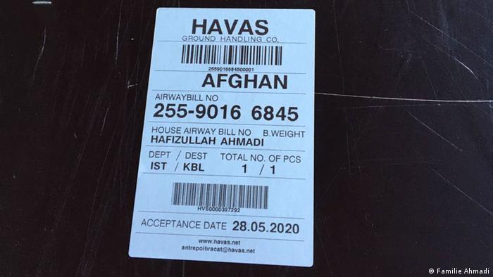 Privatbild Familie Ahmadi |Hafizullah Ahmadi, ermordeter Flüchtling