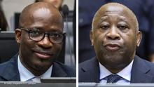 Bildkombo | Charles Ble Goude und Laurent Gbagbo