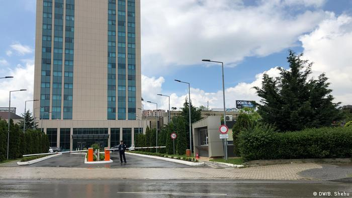 Kosovo Regierungsgebäude in Pristina