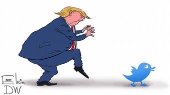 Γελοιογραφία του Σεργκέι Έλκιν για τη DW