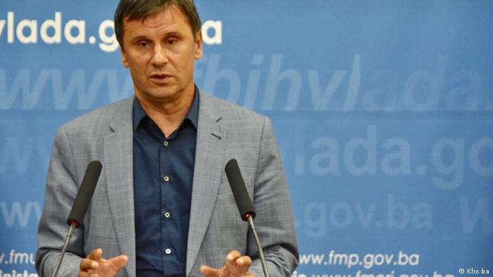 Fikret Novalic, Premierminister der Föderation Bosnien und Herzegowina (Klix.ba)