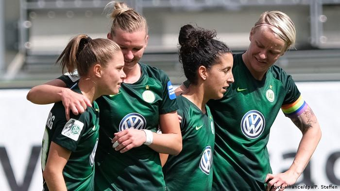 Wolfsburger Bundesliga-Spielerinnen
