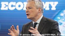 Corona-Rezession - Frankreichs Wirtschafts- und Finanzminister Bruno Le Maire