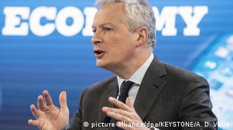Corona-Rezession - Frankreichs Wirtschafts- und Finanzminister Bruno Le Maire (picture-alliance/dpa/KEYSTONE/A. D. Valle)